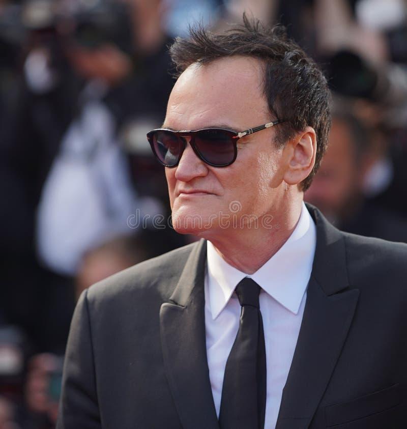 Quentin Tarantino ucz?szcza przesiewanie zdjęcie stock