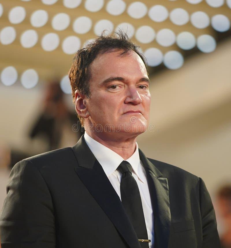 Quentin Tarantino ucz?szcza przesiewanie obraz stock