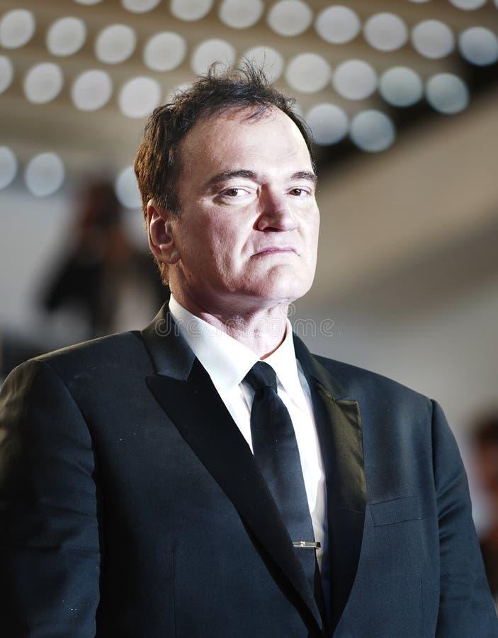Quentin Tarantino ucz?szcza przesiewanie zdjęcia royalty free