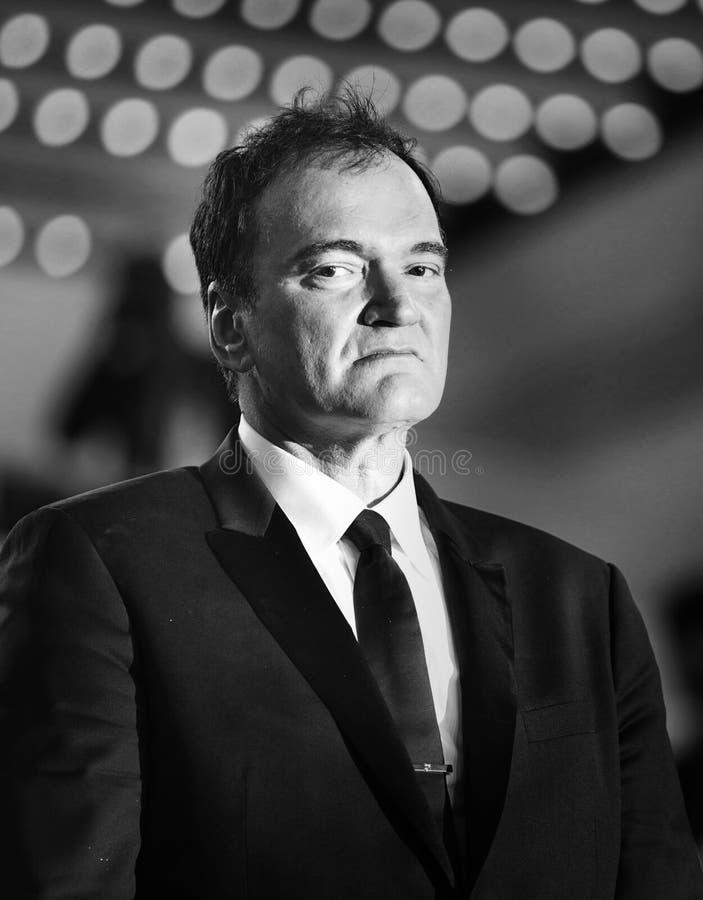Quentin Tarantino ucz?szcza przesiewanie zdjęcie royalty free