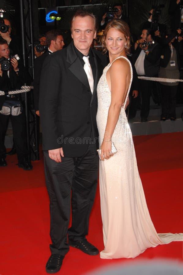 Quentin Tarantino, Zoe Bell photos stock