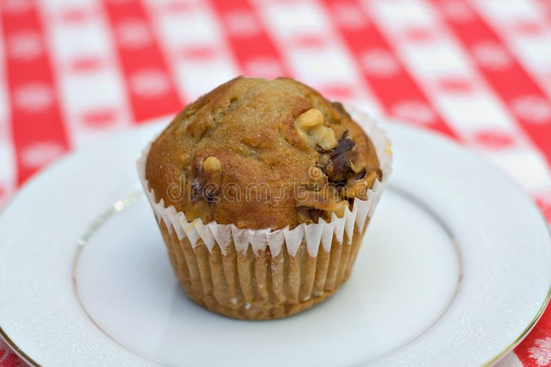 Muffin da banana foto de stock royalty free