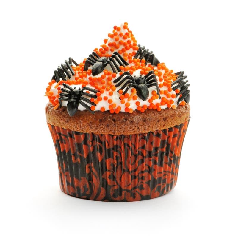 Queque de Halloween imagens de stock