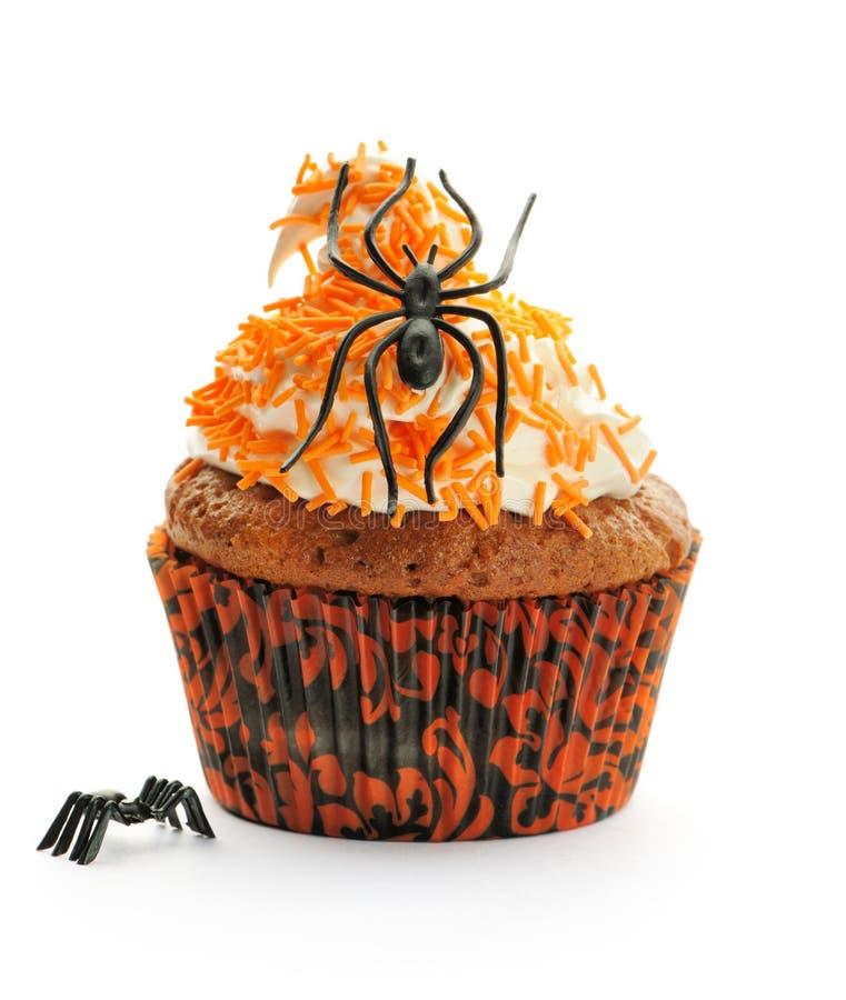 Queque de Halloween fotografia de stock royalty free
