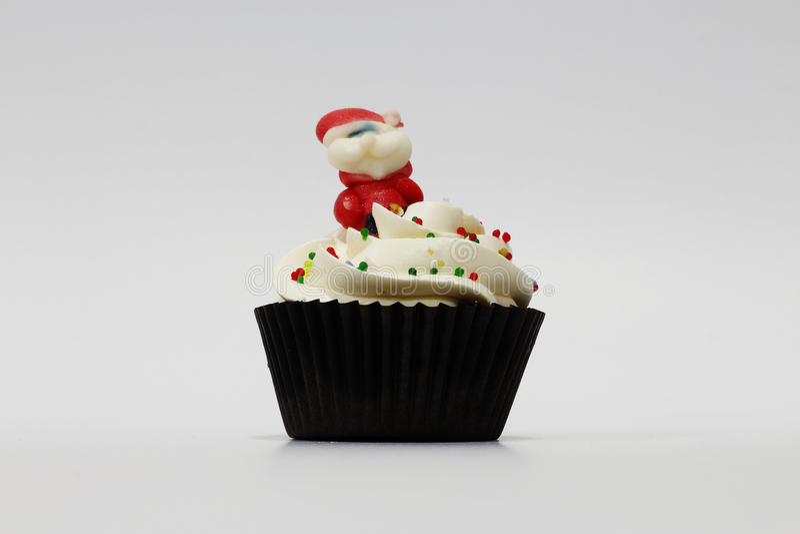 Queque de Santa Claus fotos de stock