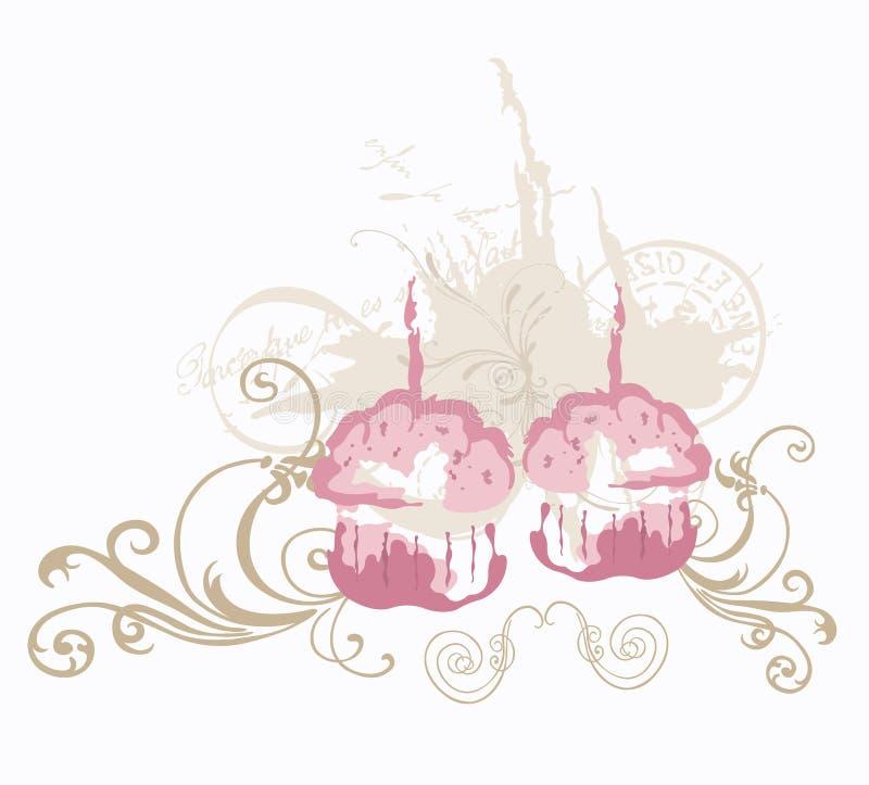 Queques ilustração royalty free
