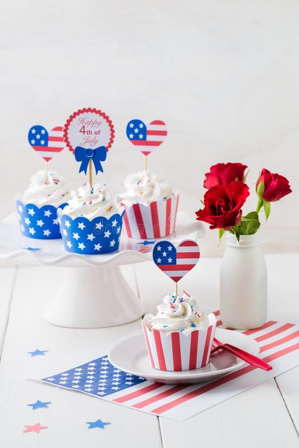 Queques do Dia da Independência imagem de stock royalty free