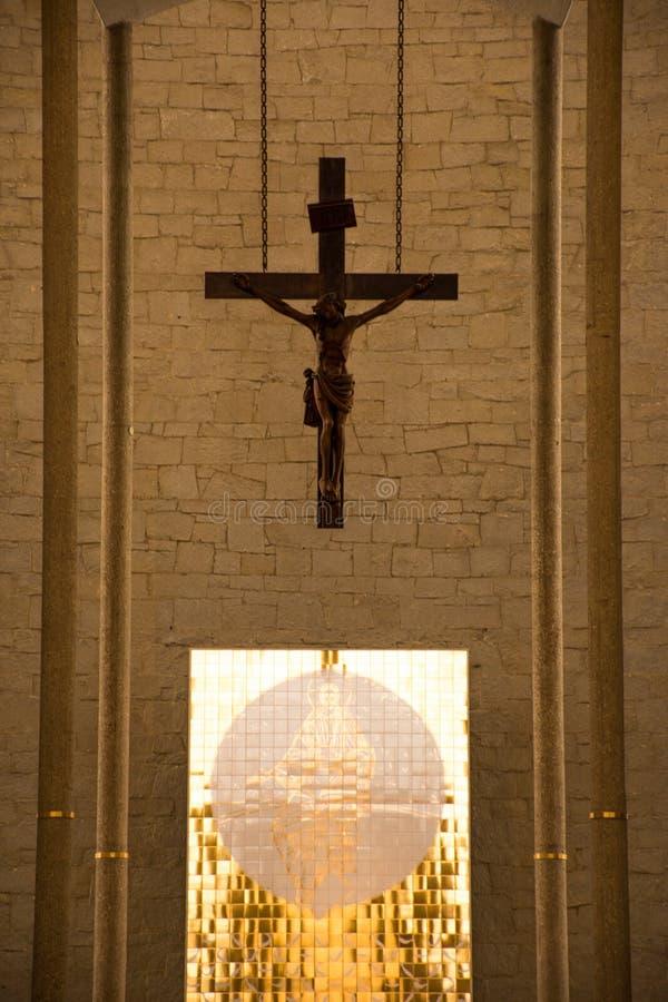 Quer- katholische Religion stockbilder