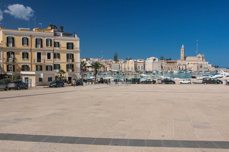Quercia广场 特拉尼 普利亚 意大利 免版税库存图片
