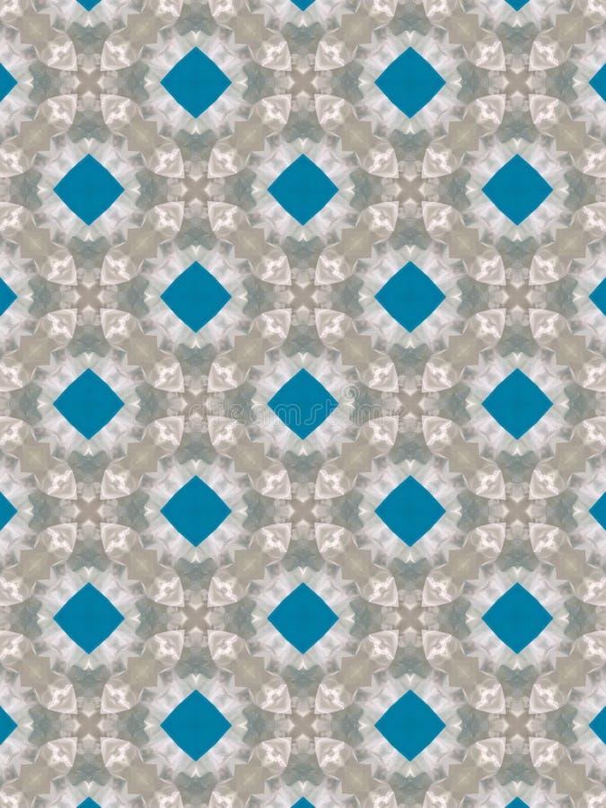Queres quadratisches Blau des Hintergrundes lizenzfreies stockbild