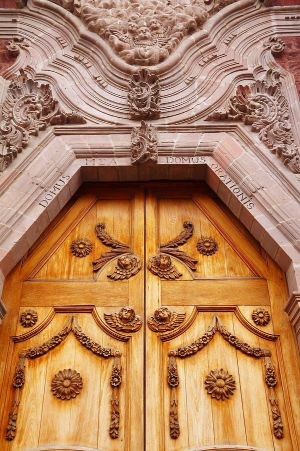 Queretaro-Kathedrale V lizenzfreie stockfotos