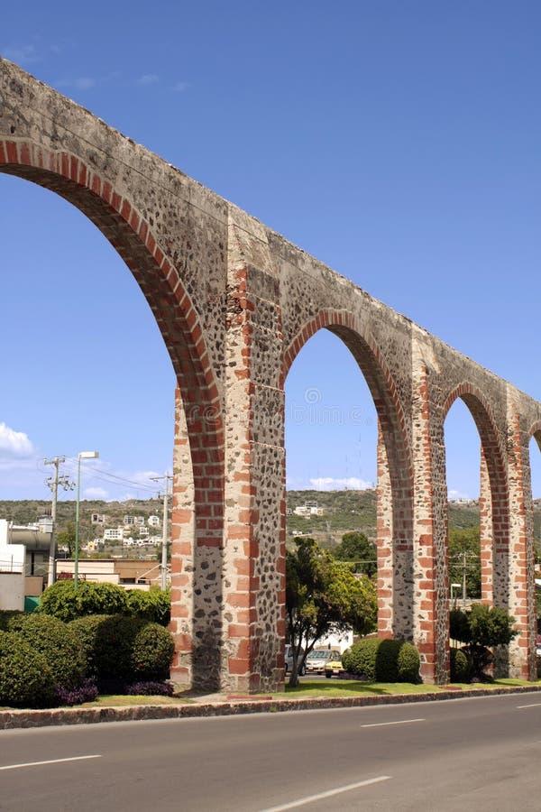 Queretaro Los Arcos immagine stock