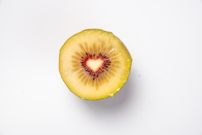 Querido no kiwifruit fotografia de stock royalty free