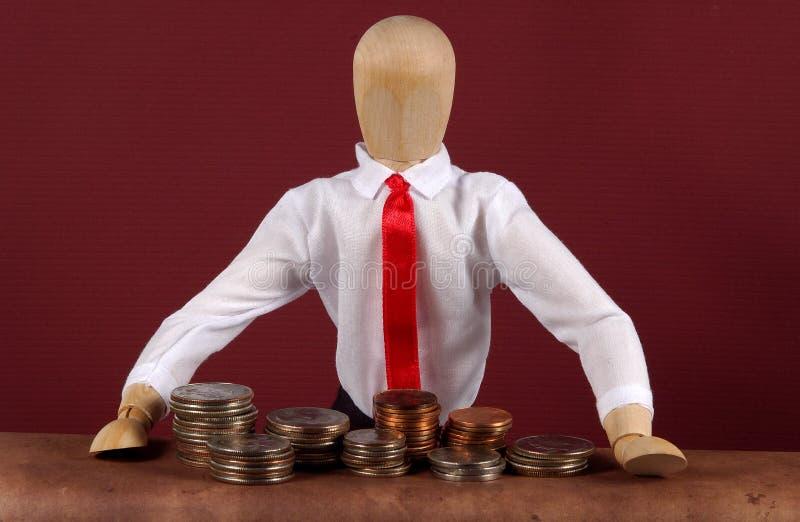 Download Querneigung-Erzähler stockfoto. Bild von überprüfung, geld - 42324