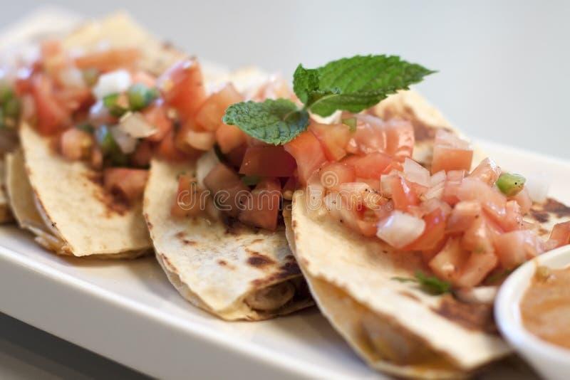 Quesadilla Kimchi στοκ εικόνες με δικαίωμα ελεύθερης χρήσης