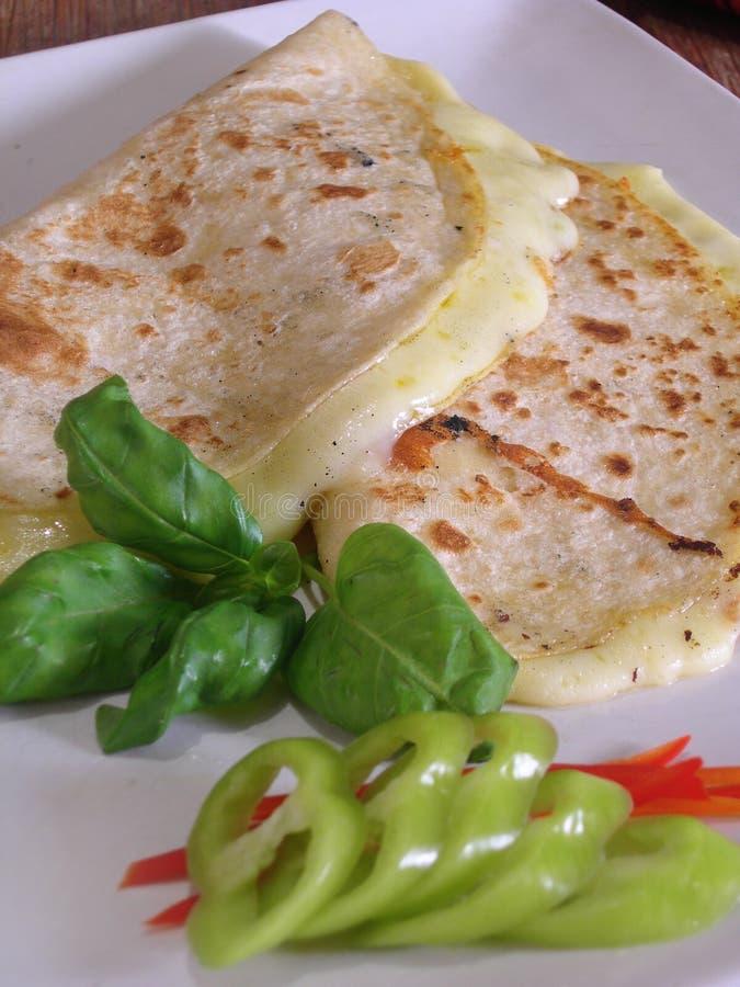 Quesadillas mexicanos foto de stock