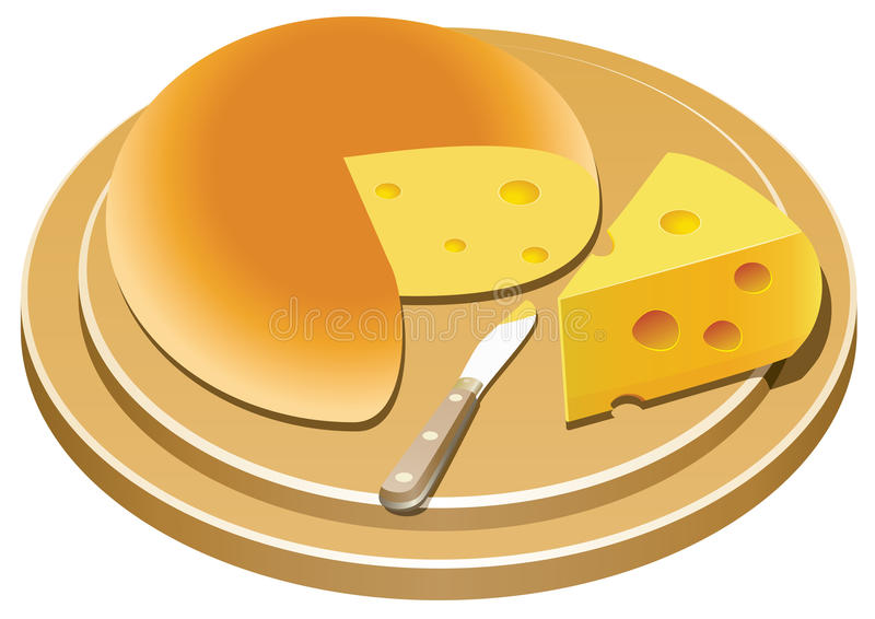 Queso libre illustration