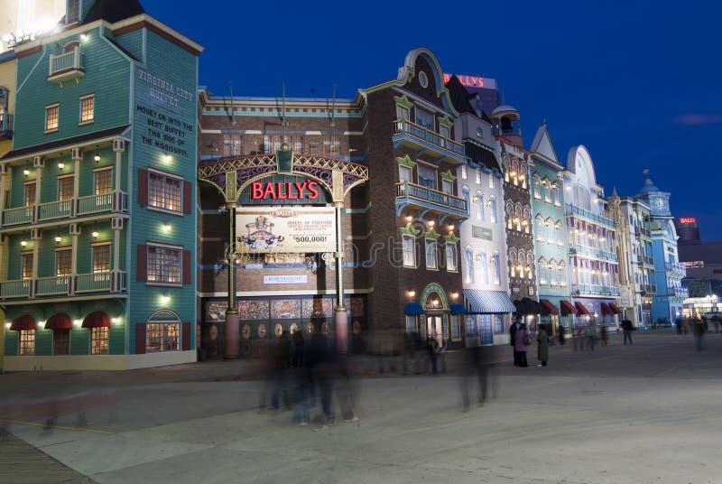 Atlantic City Bally immagini stock libere da diritti