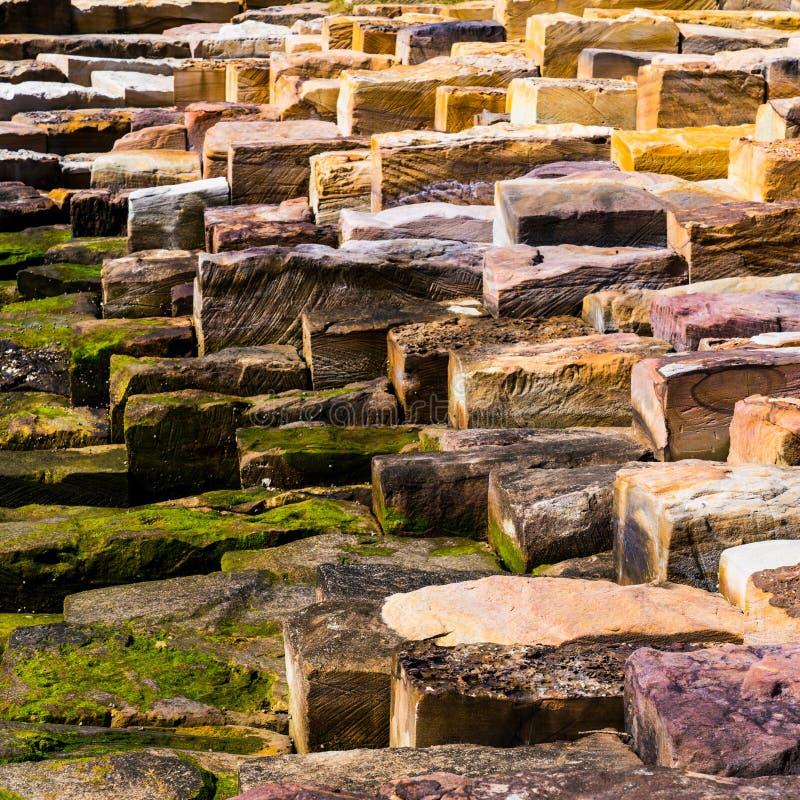 Queste pietre facenti un passo fotografie stock