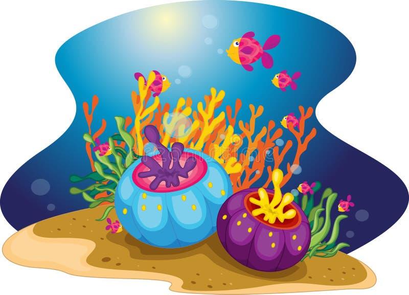 Questi pesci illustrazione vettoriale
