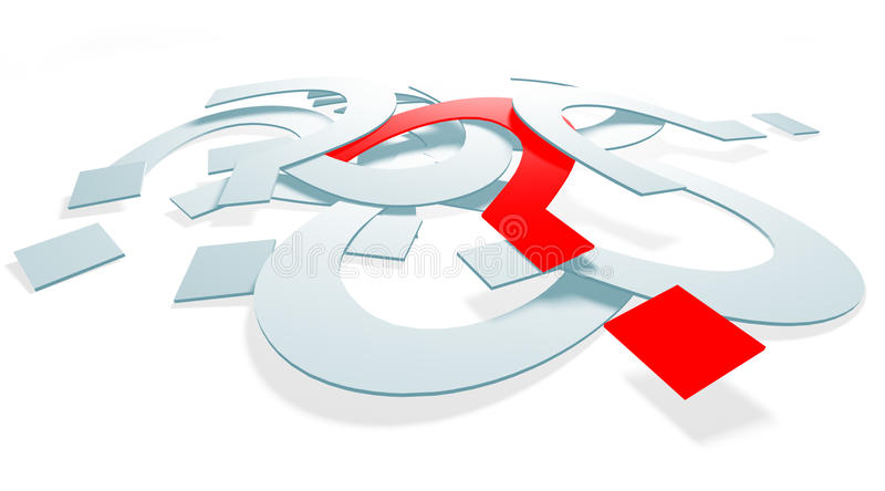 Download Question_001 Royalty Free Stock Images - Image: 13442089