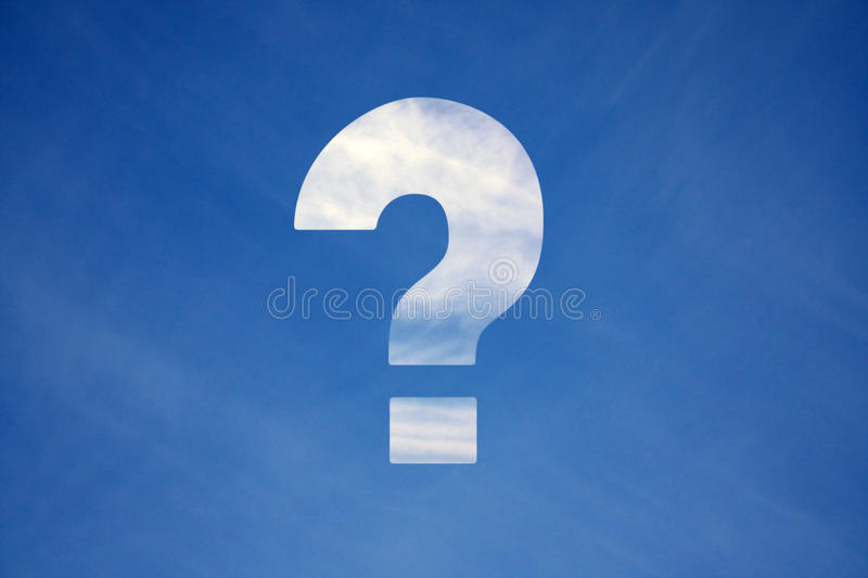 Question stock photos