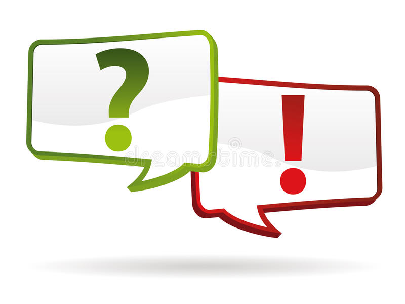 Download Question answer signs stock vector. Image of find, request - 25230777
