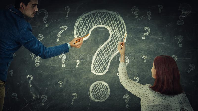 Question stock images