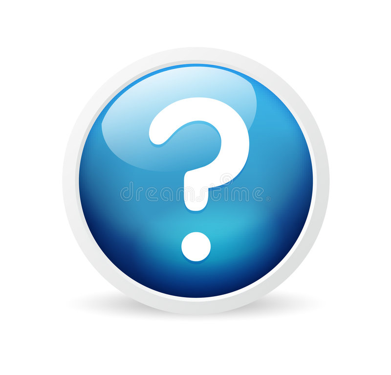 Download Question mark stock vector. Illustration of toolbar, stylish - 8513219