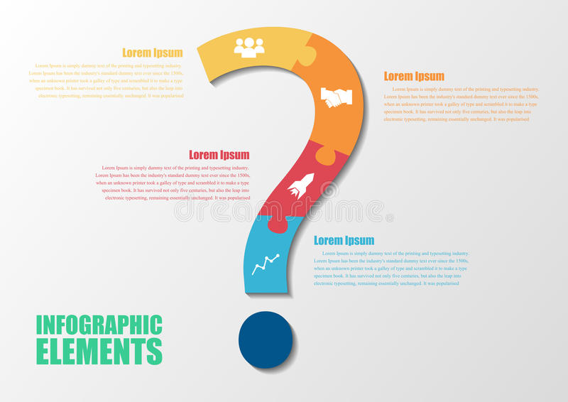 Question mark abstract background design vector illustration