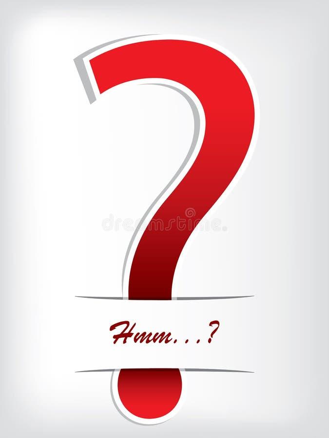 Download Question mark brochure stock vector. Illustration of speak - 26271674