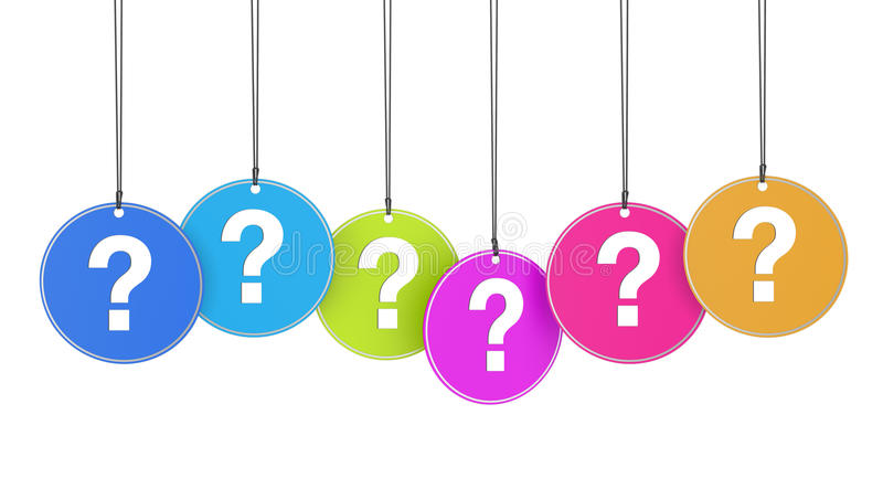 Question Mark Concept Stock Illustration