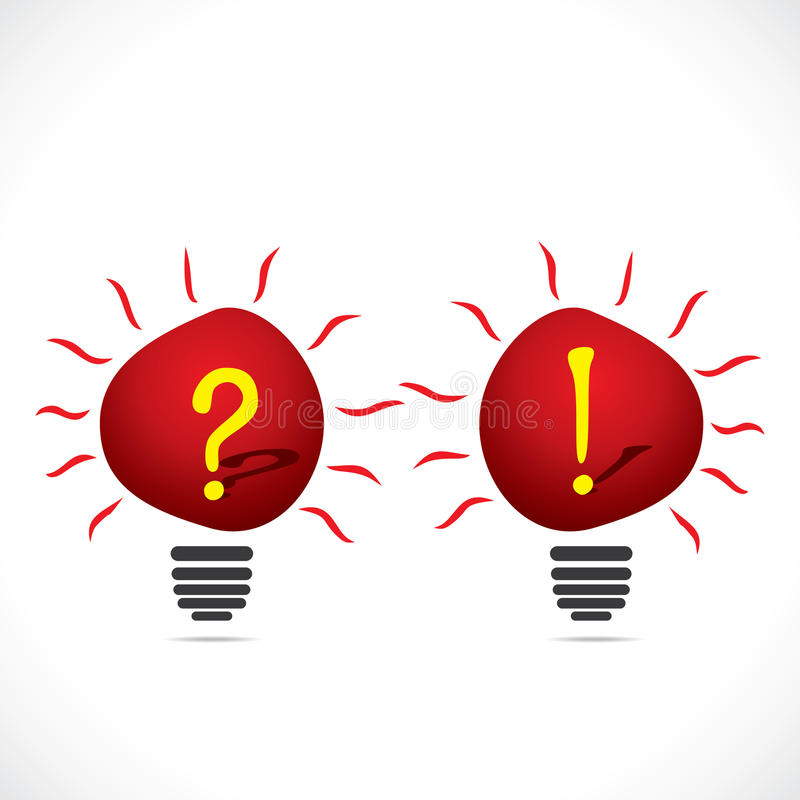 Download Bulb With Symbol Stock Photo - Image: 30273060