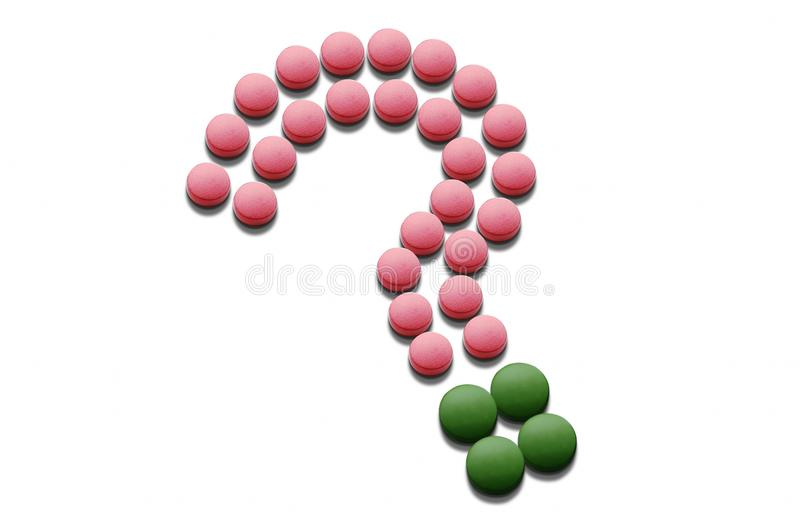 Download Question Mark Formed By Pills Stock Image - Image: 13344223