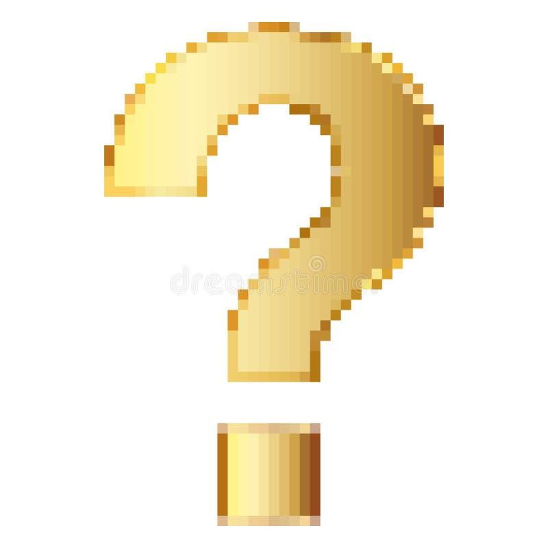 Question Mark Pattern Art Stock Vector. Illustration Of