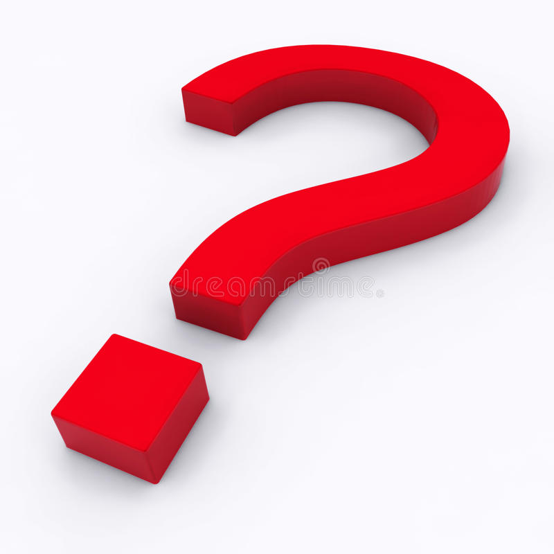 Download Question Mark With Reflection Royalty Free Stock Photos - Image: 15199858