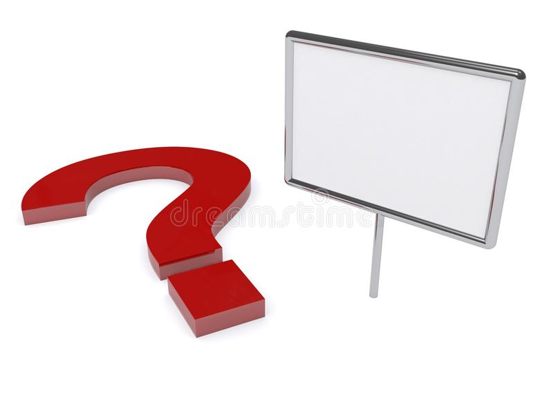 Question Mark And Sign Stock Photo