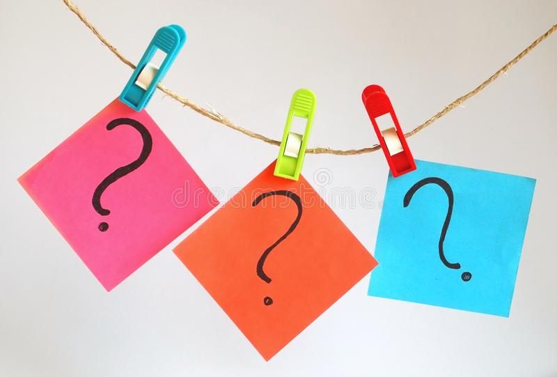 Download Question marks stock image. Image of spot, sign, emotion - 19651093