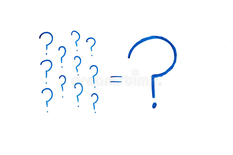 Download Question marks stock image. Image of small, ideas, symbol - 20585747