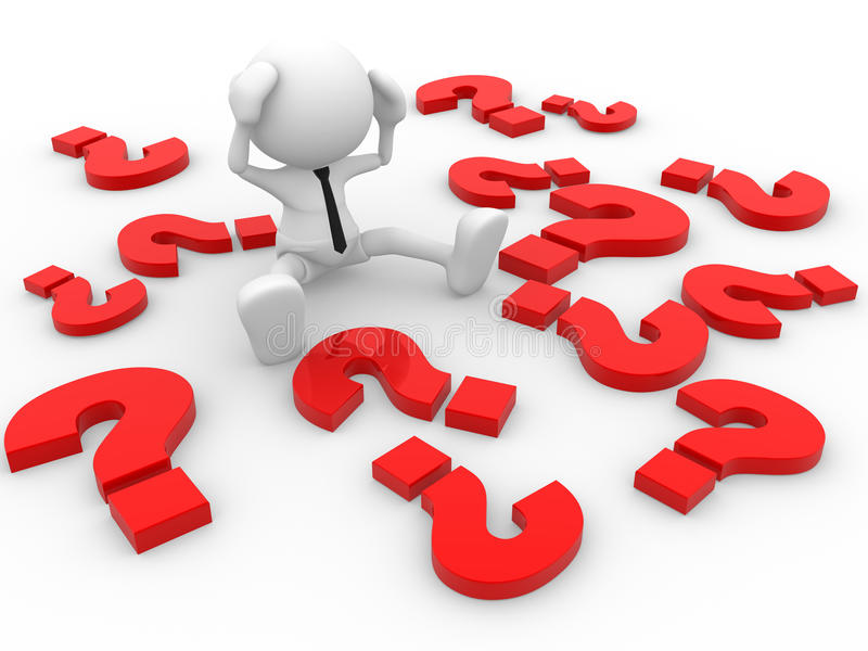 Download Question marks stock illustration. Image of question - 26344011