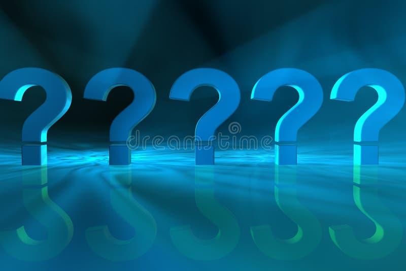 Download Question marks stock illustration. Illustration of confused - 95129