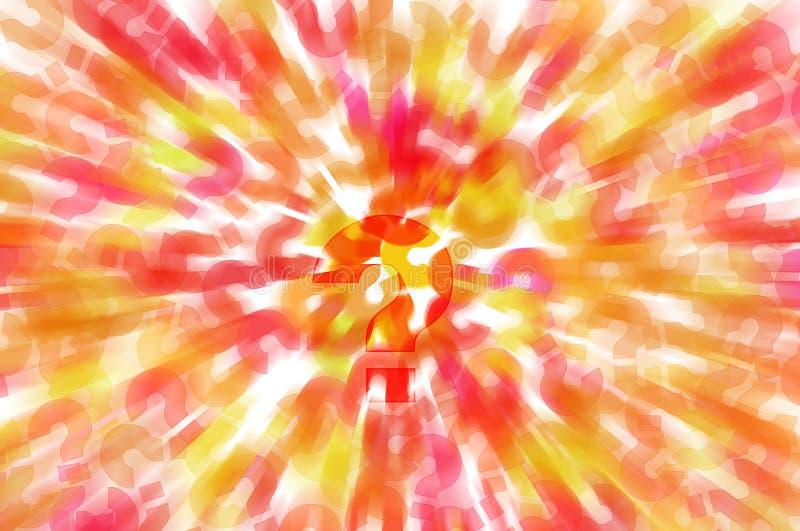 Question marks background vector illustration