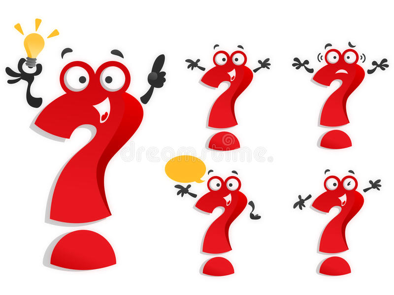 Download Question Marks  Collection Of Question Marks In Va Stock Images - Image: 18509184
