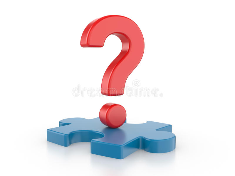 Download Question with puzzles. stock illustration. Image of point - 26787940