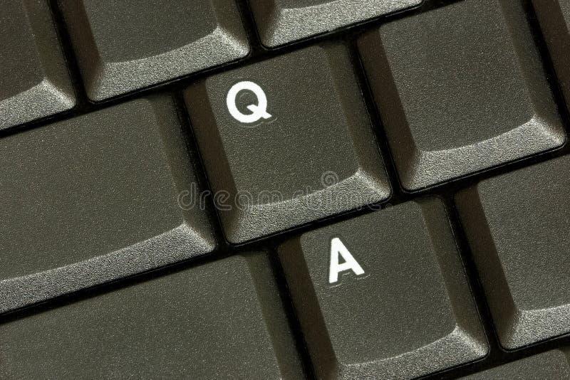 Question/réponse photographie stock libre de droits