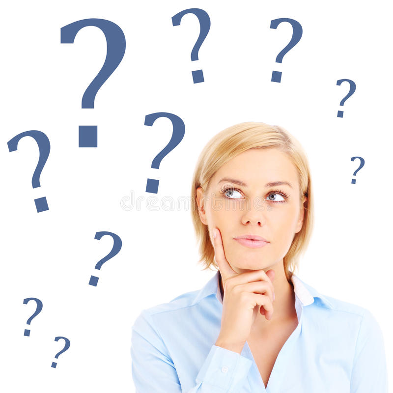 Download Question stock photo. Image of female, question, businesswoman - 39905562