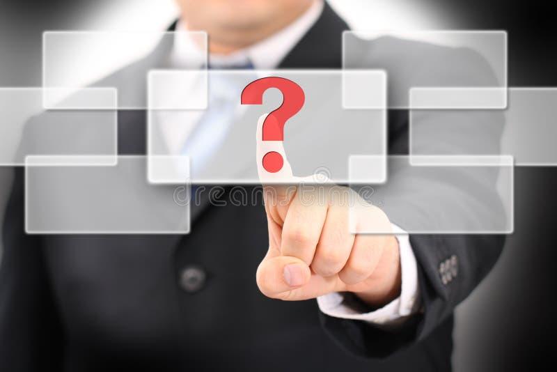 Questionmark fotografia de stock