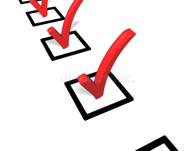 Questionnaire 3d stock photo