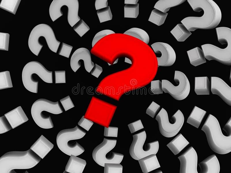 Questions vector illustration