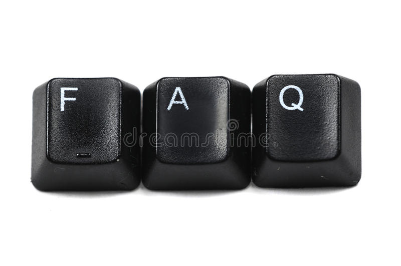 Download Questions aked stock image. Image of internet, white, keyboard - 9655701